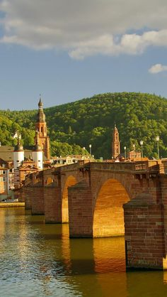 Old Bridge, Heidelberg Germany