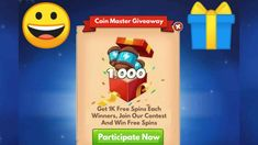 Coin Master Hack, Free Gift Card Generator, Spinning, Free Gift Cards, Coins, Giveaway, Presents, Group, Facebook