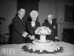 Atomic Cake, served at a reception for Operation Crossroads (Bikini Atoll) on Nov 6, 1946. The photo so outraged Reverend Arthur Powell Davies, of Washington's All Souls Church, that he condemned it in a fiery sermon, which in turn set off an international media furor.