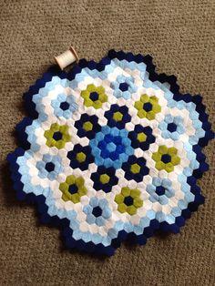 New hexagon quilt
