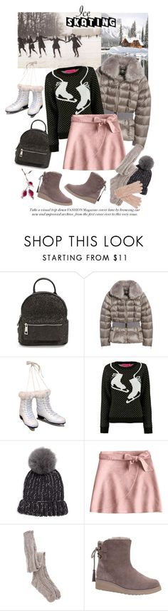"""Ice Skating"" by nicolesynth ❤ liked on Polyvore featuring Street Level, Ted Baker, Kurt Adler, Eugenia Kim, ASOS, Koolaburra, Oasis, Winter, cozy and iceskating"