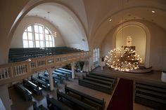 Joutseno Church inside