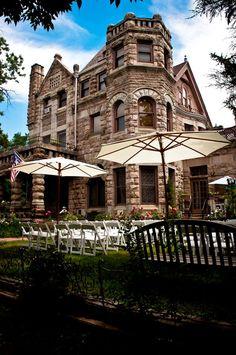 Castle Marne Wedding Denver, CO Photo: John Fischer  #castle #castlemarne #denver #wedding #denverwedding