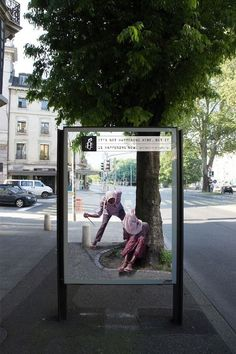 """It's not happening here but it's happening now"" by Amnesty International"