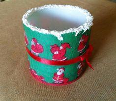 decoupage on wax Decoupage, Planter Pots, Wax, Mugs, Tableware, Dinnerware, Tumblers, Tablewares, Mug