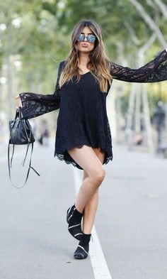 Look All Black: Summer Comfy
