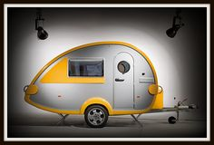 The Knaus Tabbert T@B 320 RS Teardrop Travel Trailer.