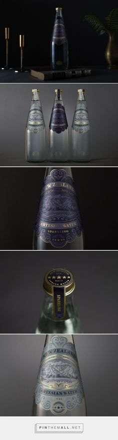 New Zealand Beverages Brand Artisan Water Packaging by Marx Design   Fivestar Branding Agency – Design and Branding Agency & Curated Inspiration Gallery