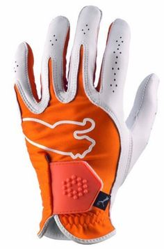 separation shoes 7324b 03015 Puma Youth Left Hand Monoline Performance Glove (Orange , Large) by PUMA.   9.95