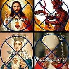 """Jesus said """"My kingdom is not of this world"""" Dear White People, Old And New Testament, Armor Of God, World Religions, Bible Truth, Cristiano, History Facts, You Are The Father, Satan"""