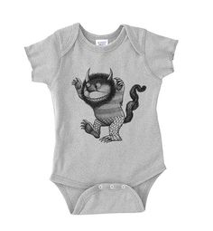 SALE  Baby Onesie  Where the Wild Things Are  by CrawlSpaceStudios, $13.00