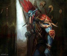 Bilderesultat for world of warcraft troll art World Of Warcraft 3, World Of Warcraft Characters, Fantasy Characters, Dota Warcraft, Warcraft Art, 3d Fantasy, Fantasy Races, Fantasy Dragon, Goblin