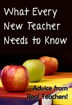 What Every New Teacher Needs to Know