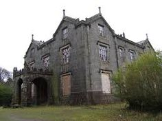 Favour Royal Manor in County Tyrone, Northern Ireland. The original house burned to the ground in 1823. The current one was built in the same spot in 1825.