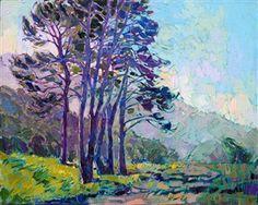 California impressionism landscape painting by modern artist Erin Hanson.