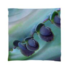 Kalanchoe Blues Scarf By mae-glenn $48.00  This abstract design is an original photograph of a kalanchoe leaf. The photo is a closeup, showing the edge of the bluish green leaf, with the darker blue parts which drop off to form new plants.