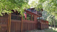 Cabin vacation rental in Ellijay, GA, USA from VRBO.com! #vacation #rental #travel #vrbo