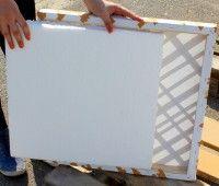 #DIY #Pinnwand Keilrahmen in Pinnwand verwandeln