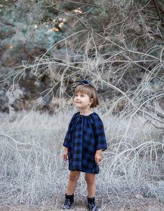 Sukienka wełniana krata LITTLE GIRL | Uszyto dla... | SHOWROOM Kids