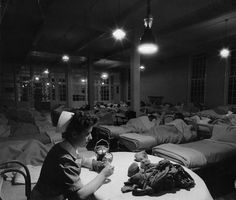 In certain hospitals like the Camarillo Mental Hospital here pictures, overcrowding led to patients being lined up to sleep sitting up. Alternately, some believed that sleep deprivation could help in the treatment of depression.