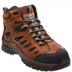 Nautilus Mens Waterproof LaceUp Work Boot Steel Toe Brown 105 EE US *** Be sure to check out this helpful article. Steel Toe Shoes, Steel Toe Work Boots, Comfortable Steel Toe Boots, Composite Toe Boots, Safety Toe Boots, Star Boots, Nautilus, Boots Online, Shoes