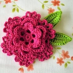 How to Crochet a Flower Video Tutorial - All Free Crochet Pattern + Video Tutorial