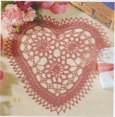 Crochet y Dos agujas: Amor en tu mesa