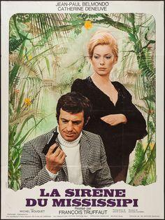 Mississippi Mermaid (François Truffaut, 1969) French design