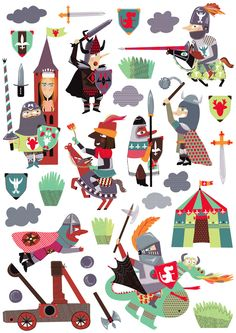 Collection Chevaliers - www.emilielapeyre.com