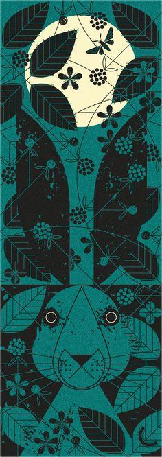 Midnight Hare - Maizle Illustration
