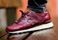 "New Balance 577 ""Red Leather"" (Made in England) www.sportnova.es #sportnova"