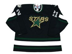 0a06eb1cc Details about Vintage NHL Dallas Stars Hockey Jersey Youth Small by Hutch  Made in USA