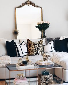 My Favorite Decor Purchases I Bought to Style Our Modern Glam Living Room I Home Decor