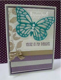 HAPPY HEART CARDS: JAI #273: A STAMPIN' UP! COLOUR CHALLENGE