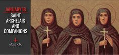 St. Archelais, St. Thecla and St. Susanna were Christian virgins of the Romagna region of Italy. During the persecution by Diocletian in the third century, these holy virgins dressed themselves in men's clothing, cut their hair and went to the Italian province of Campagna. They were gruesomely ...
