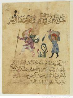 Bibliothèque nationale de France, Département des manuscrits, Arabe 3929 116r