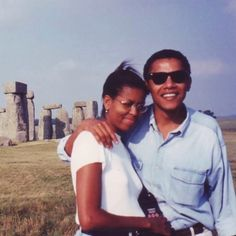 That's why he visited Stonehenge on a UK visit Malia Obama, Barack Obama Family, Young Michelle Obama, Barak And Michelle Obama, Black Presidents, Greatest Presidents, Throwback Thursday, American First Ladies, First Black President