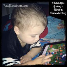 5 Advantages of using a tablet in #homeschooling