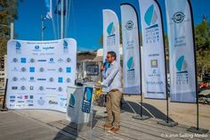 Promotional Flags and Banners Checkered Flag, Branding Materials, Paros, Special Promotion, Sailing, Advertising, Tours, Flags, Banners