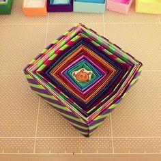 しましま。#chinhako #origami - @chinhako- #webstagram