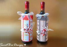 Sweet Bio design: IDEA REGALO maschile: Cover per bottiglie - Male G...