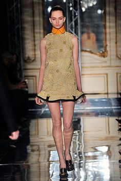 8002868a611 Cheryl Cole wearing Miu Miu Fall 2010 Rtw Collar-Detailed Dress. Prada,  Fashion