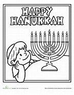 image result for hanukkah coloring book
