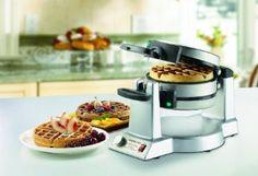 Amazon.com: Double Belgian-Waffle Maker