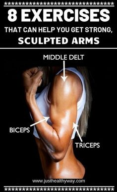 8 Exercises That Can Help You Get Strong, Sculpted Arms - Just Healthy Way