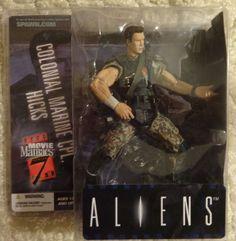 McFarlane Movie Maniacs Series 7 Aliens Colonel Marine Cpl. Hicks Action Figure #McFarlaneToys