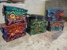 Ammo Box Demons by Augie Pagan