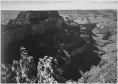 """Grand Canyon National Park, Arizona"" by Ansel Adams"