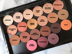 MAC Eyeshadow Swatches | The Beauty Boulevard #beauty #makeup