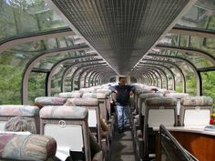 Rocky Mountaineer Train (Canada). Oh to roll through the rockies in a glass roof train...